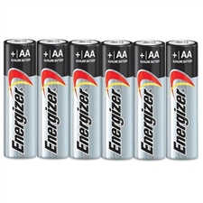 AA Duracell batteries 6 pack