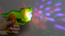 Flashing Light Dinosaur Gun