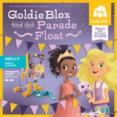 GOLDIE BLOX AND THE PARADE FLOAT