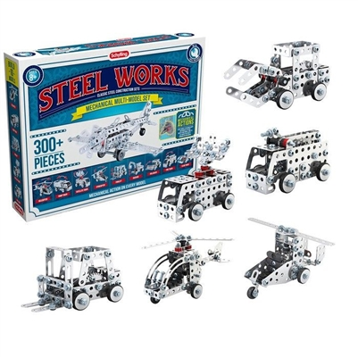 Steel Works - Classic Steel Construction Sets