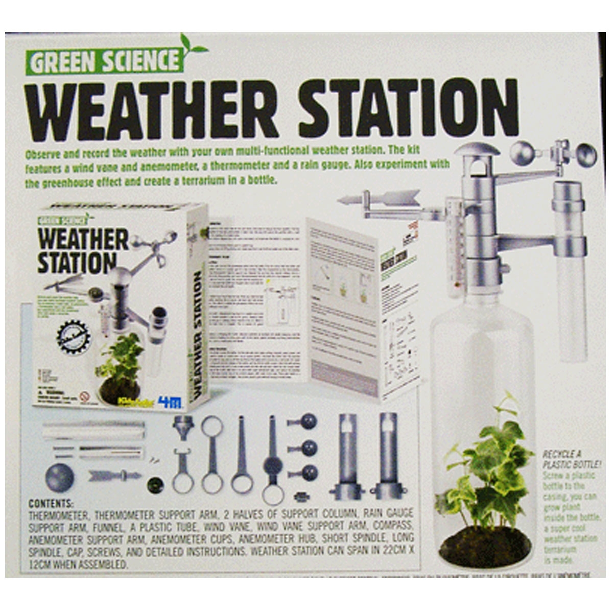 how to make your own weather station