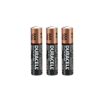 Duracell AAA batteries 3 pack