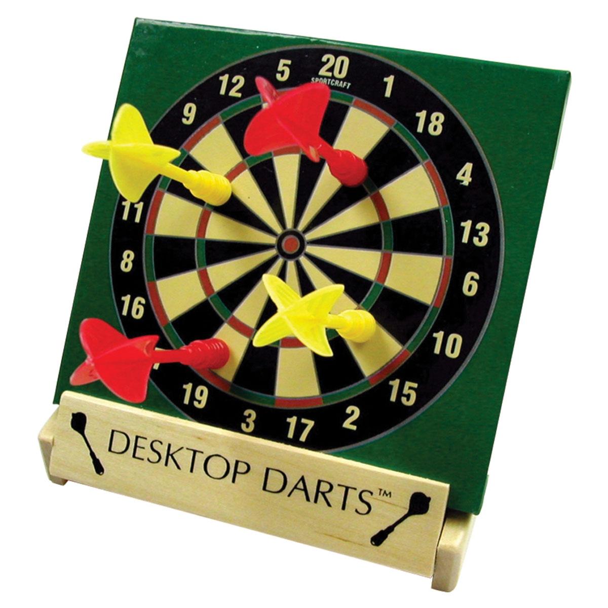 Desktop Darts Mini Dart Board And Dart Set