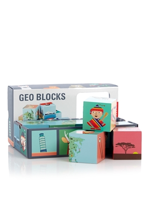 GEO WOODEN BLOCKS