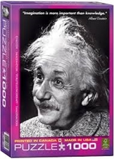 Einstein Imagination Jigsaw Puzzle