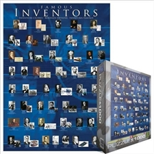 Eurographics 1000 pc Jigswaw Puzzle - FAMOUS INVENTORS