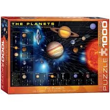 Eurographics 1000 pc Jigsaw Puzzle - THE PLANETS