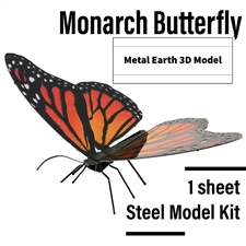 Metal Earth 3D Laser Cut Models Butterfly