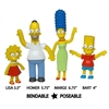 The Simpsons Bendable Figures