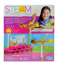 Steam Powered Weather Station