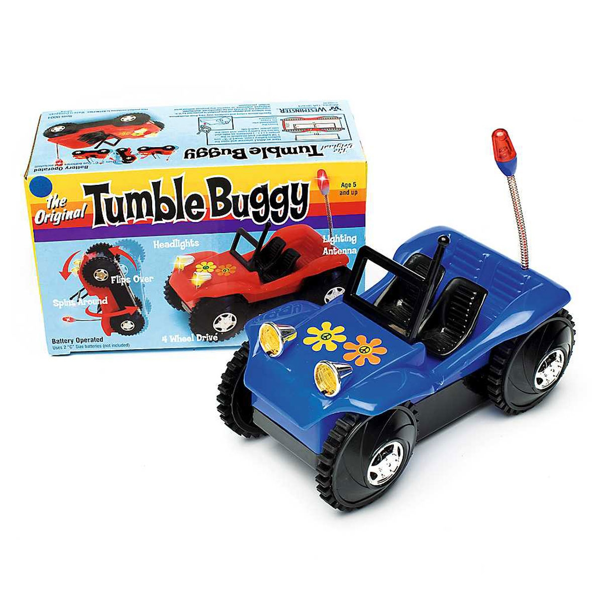 Games Other Games The Original Lighting Antenna Flipping Spinning Tumble Buggy